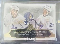 16-17 UD The Cup AUSTON MATTHEWS/NYLANDER Signature Renditions Combos Leafs Auto