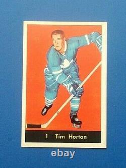 1960/61 Parkhurst #1 Tim Horton