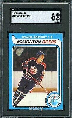 1979 Topps #18 Wayne Gretzky SGC 6 RC Rookie