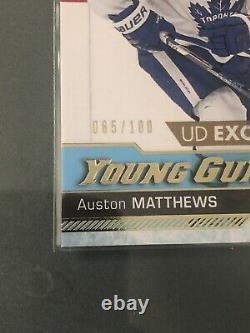 2016-17 Auston Matthews UD Young Guns Exclusives 85/100