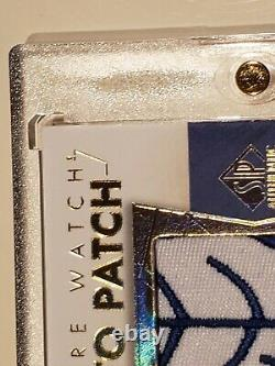 2016-17 Mitch Marner #/100 Sp Authentic Rookie Rpa Rc Auto 2-clr Patch Leafs Spa