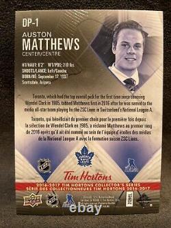 2016-17 UD Tim Hortons Hockey Leafs Auston Matthews #1 Draft Pick DP-1 118,000