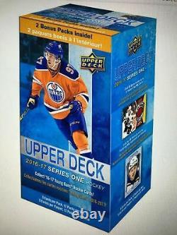 2016-17 Upper Deck Hockey Serie 1 Blaster Box Young Guns Auston Matthews