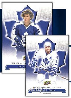 2017 Upper Deck Toronto Maple Leafs 100th Centennial Hockey Cards Hobby Box