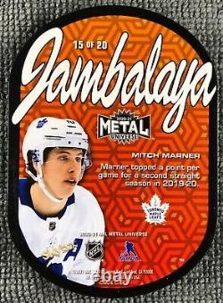 2020-21 Skybox Metal Universe Jambalaya Mitch Marner Toronto Maple Leafs SSP