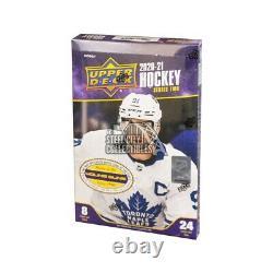 2020-21 Upper Deck Series 2 Hockey Hobby Box