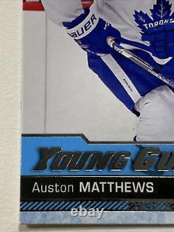 Auston Matthews Rc 2016-17 UD Young Guns Rookie # 201 Toronto Maple Leafs