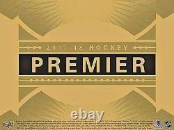 Auston Matthews Sp /5 Auto Patch Super Rookie 2017-18 Upper Deck Premier Leafs
