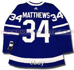 Auston Matthews Toronto Maple Leafs Adidas Home Authentic Pro Adidas NHL Jersey