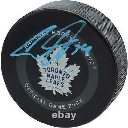 Auston Matthews Toronto Maple Leafs Signed Official Game Puck Fanatics