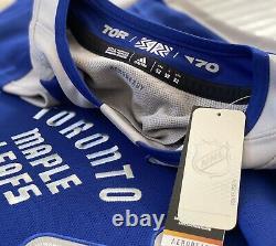 Authentic Adidas NHL Toronto Maple Leafs Reverse Retro Hockey Jersey Sz 52