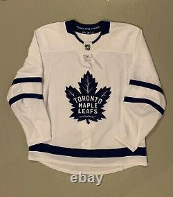 Blank Toronto Maple Leafs Adidas Authentic Jersey MIC Canada White 56