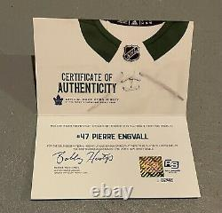 Engvall Toronto Maple Leafs St Pats Adidas Jersey MIC Canada 56 Game Issued Worn