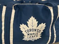 JRZ Toronto Maple Leafs NHL Pro Stock Hockey Player Equipment Team Travel Bag