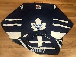 TORONTO MAPLE LEAFS Nike Authentic Vintage Hockey Jersey 56 NHL Blue