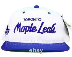 TORONTO MAPLE LEAFS VINTAGE 1990's SPORTS SPECIALTIES SNAPBACK CAP NWT nhl