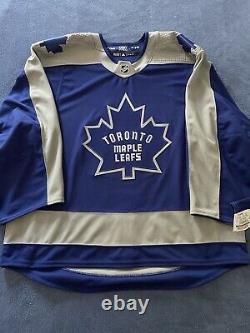Toronto Maple Leafs Adidas MIC Reverse Retro RR Team Issued Jersey 58G NWT