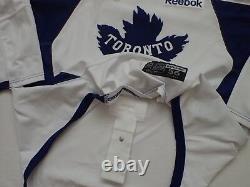 Toronto Maple Leafs pro stock Winter Classic Reebok practice hockey jersey NHL