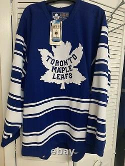 Vintage NWT Center Ice Authentic Toronto Maple Leafs 1931 Limited Edition Jersey